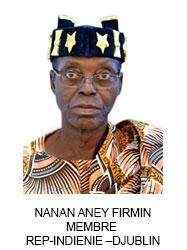 NANAN ANEY FIRMIN MEMBRE  REP-INDIENIE –DJUBLIN