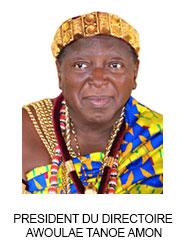 PRESIDENT DU DIRECTOIRE  AWOULAE TANOE AMON