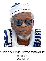 CHEF COULAYE VICTOR EMMANUEL MEMBRE  CAVALLY