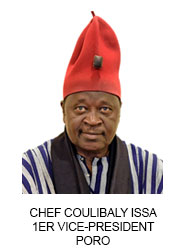 CHEF COULIBALY ISSA 1ER VICE-PRESIDENT PORO