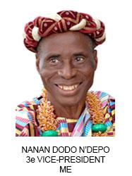 NANAN DODO N'DEPO 3e VICE-PRESIDENT ME