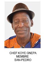 CHEF KOYE GNEPA MEMBRE  SAN-PEDRO