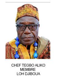CHEF TEGBO ALIKO MEMBRE  LOH DJIBOUA